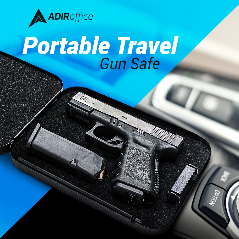 Portable Safe On the Go with Dial Lock
