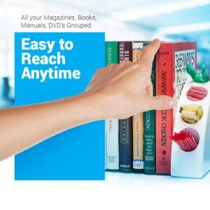 Smart Quarter Bookends