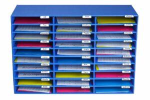 AdirOffice Classroom File Organizer 30 Slot