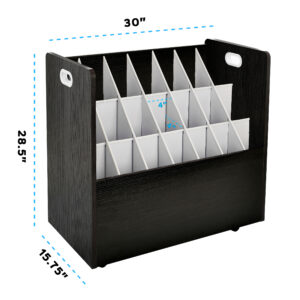 Mobile Wood Roll File 21 Slots