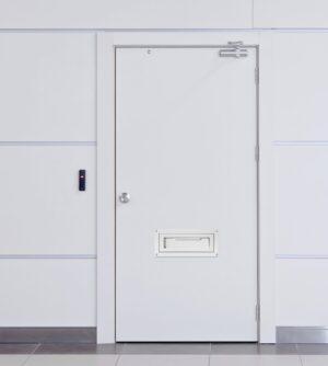 Through The Door Locking Drop Box