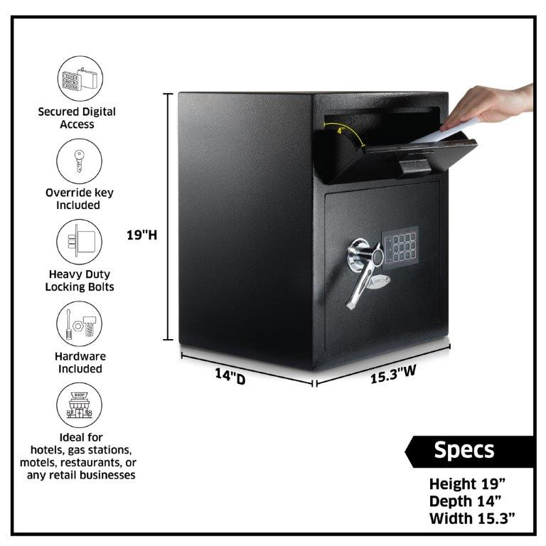 Digital Depository Safe