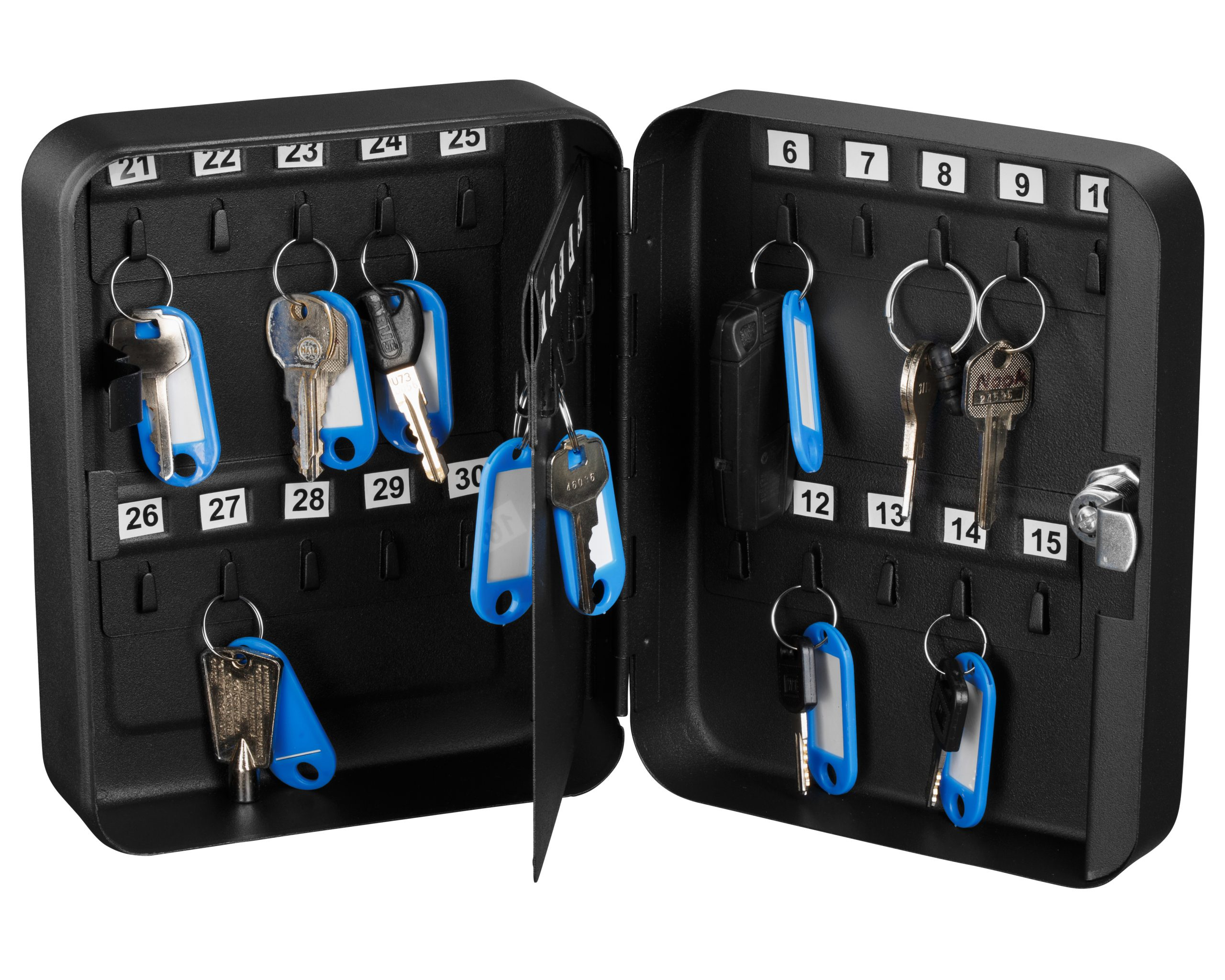 Secure Key Cabinet with Key Lock