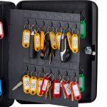 AdirOffice Secure 60 Key Cabinet with Key Lock