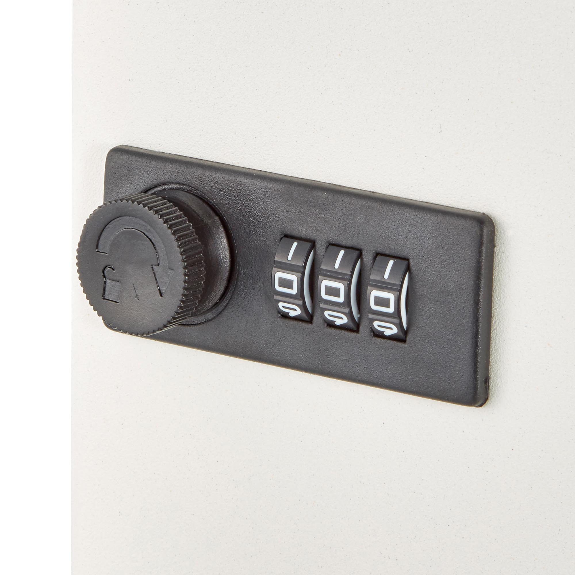 Secure Key Cabinet with Combination Lock