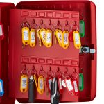 AdirOffice Secure 60 Key Cabinet with Combination Lock