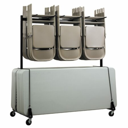 Chair & Table Combo Cart