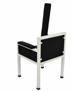 Luxe Upholstered Blood Drawing Chair Designed for Style Patient Comfort