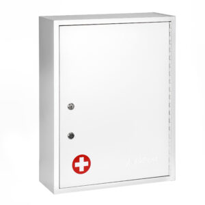 Large Medical Security Cabinet Dual Locks