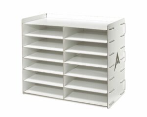 The AdirOffice 12 Compartment Paper Sorter