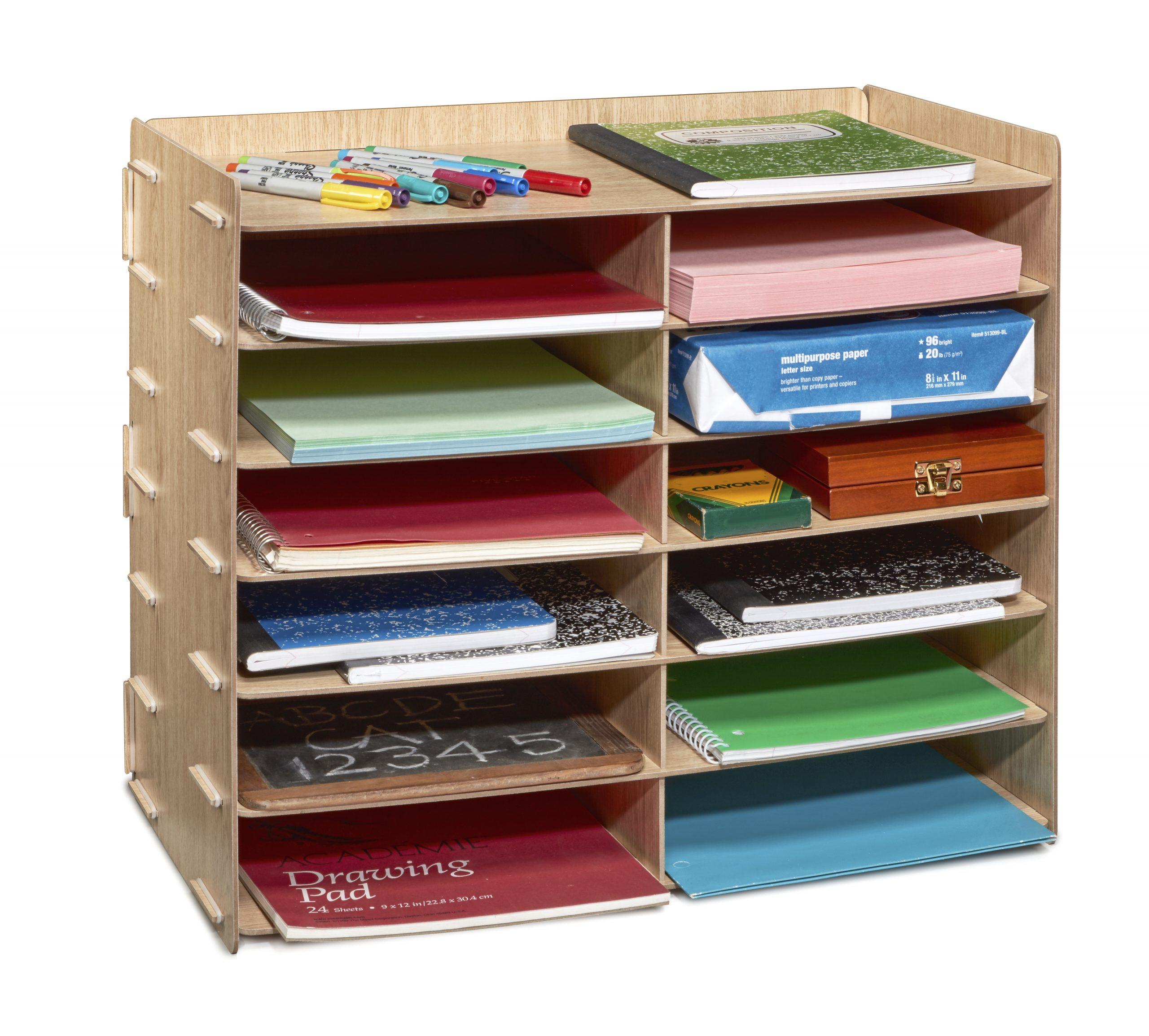 The AdirOffice 12 Compartment Paper Sorter
