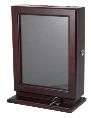 Customizable Wood Suggestion Box