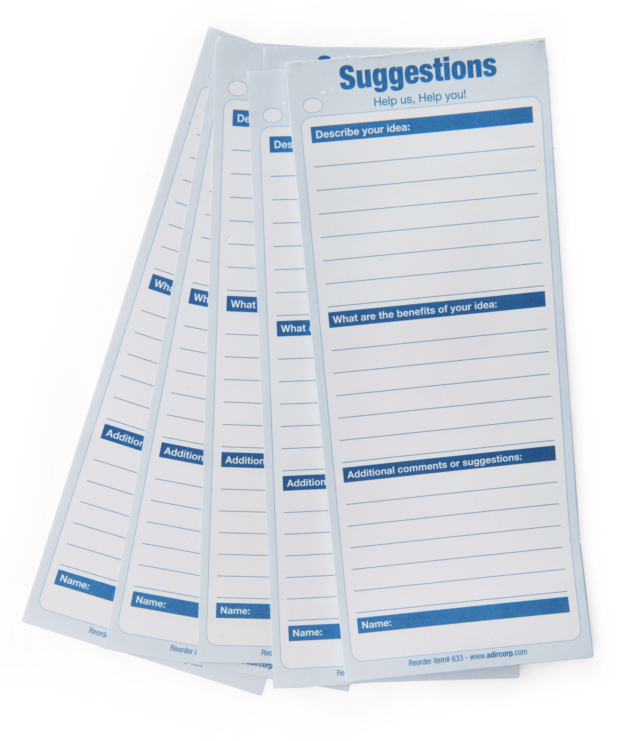 Suggestion Cards
