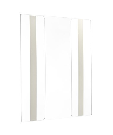 """Wall Mount Side-Loading Acrylic Sign Holders 8.5"""" x 11"""""""