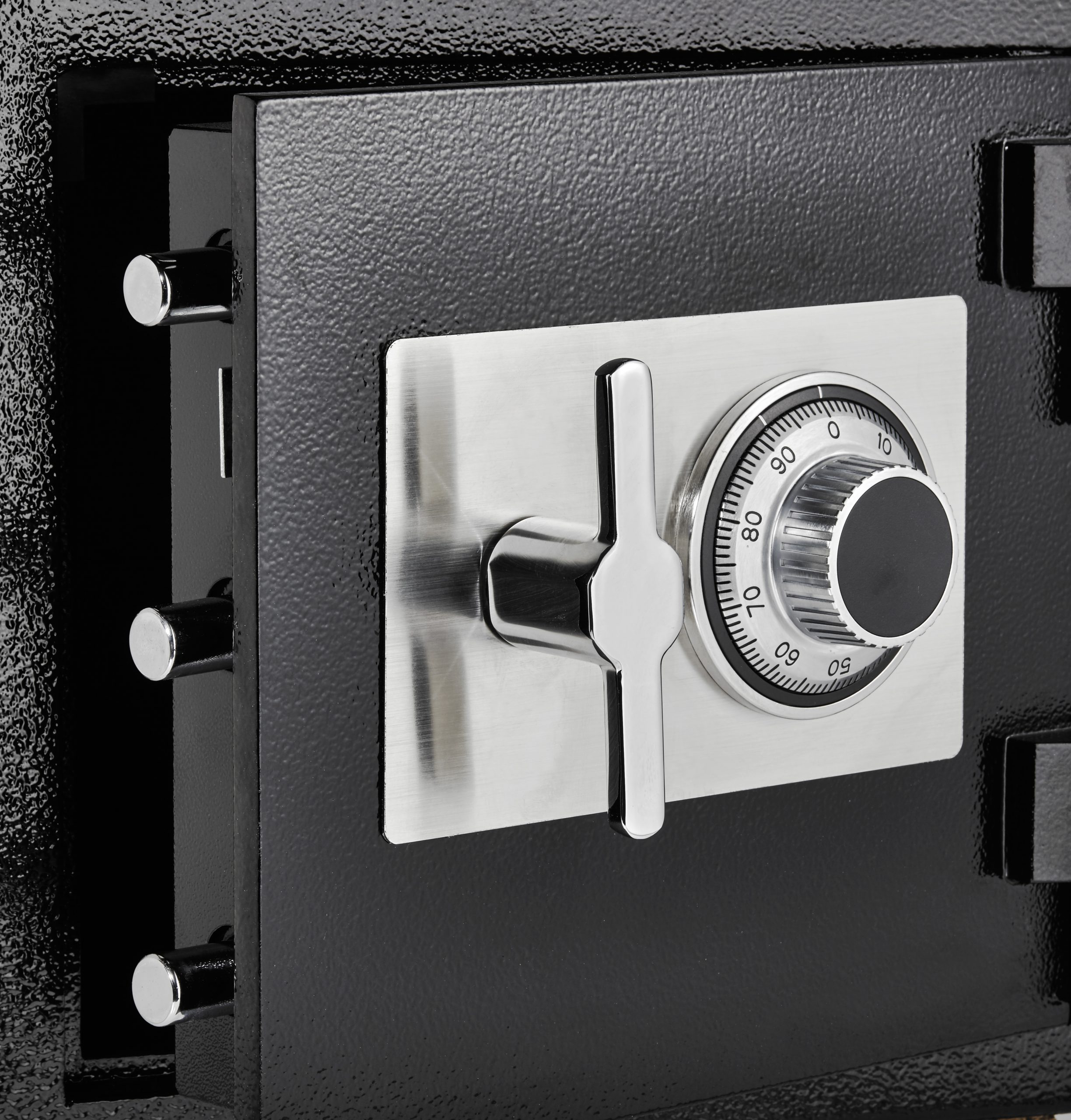 Rotating Drop Slot Combination Lock Office Safe for Cash, Valuables, & Small Parcels