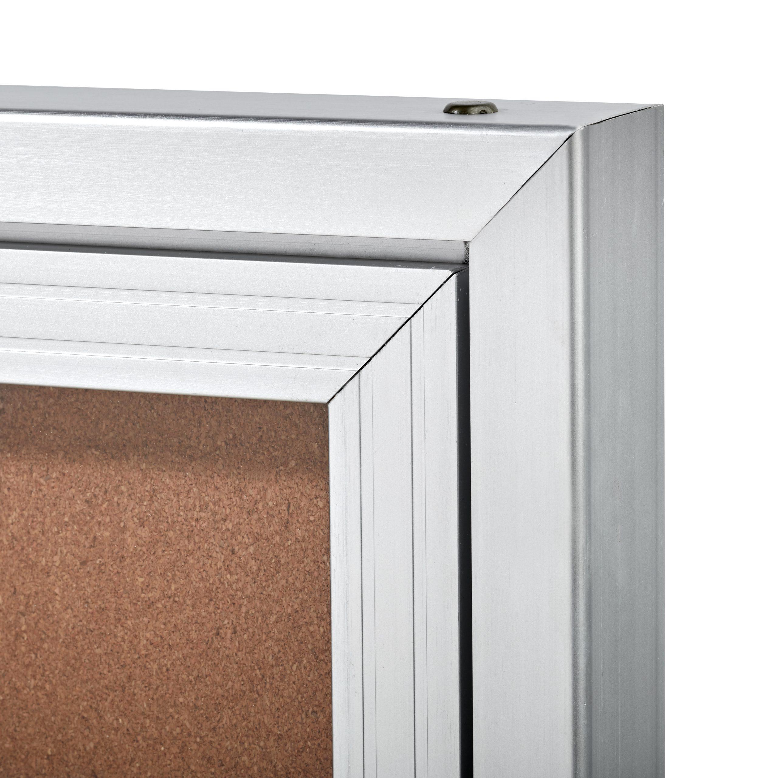 Single & Double Door Enclosed Bulletin Boards