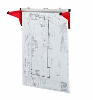 Drop/Lift Wall Rack for Blueprints
