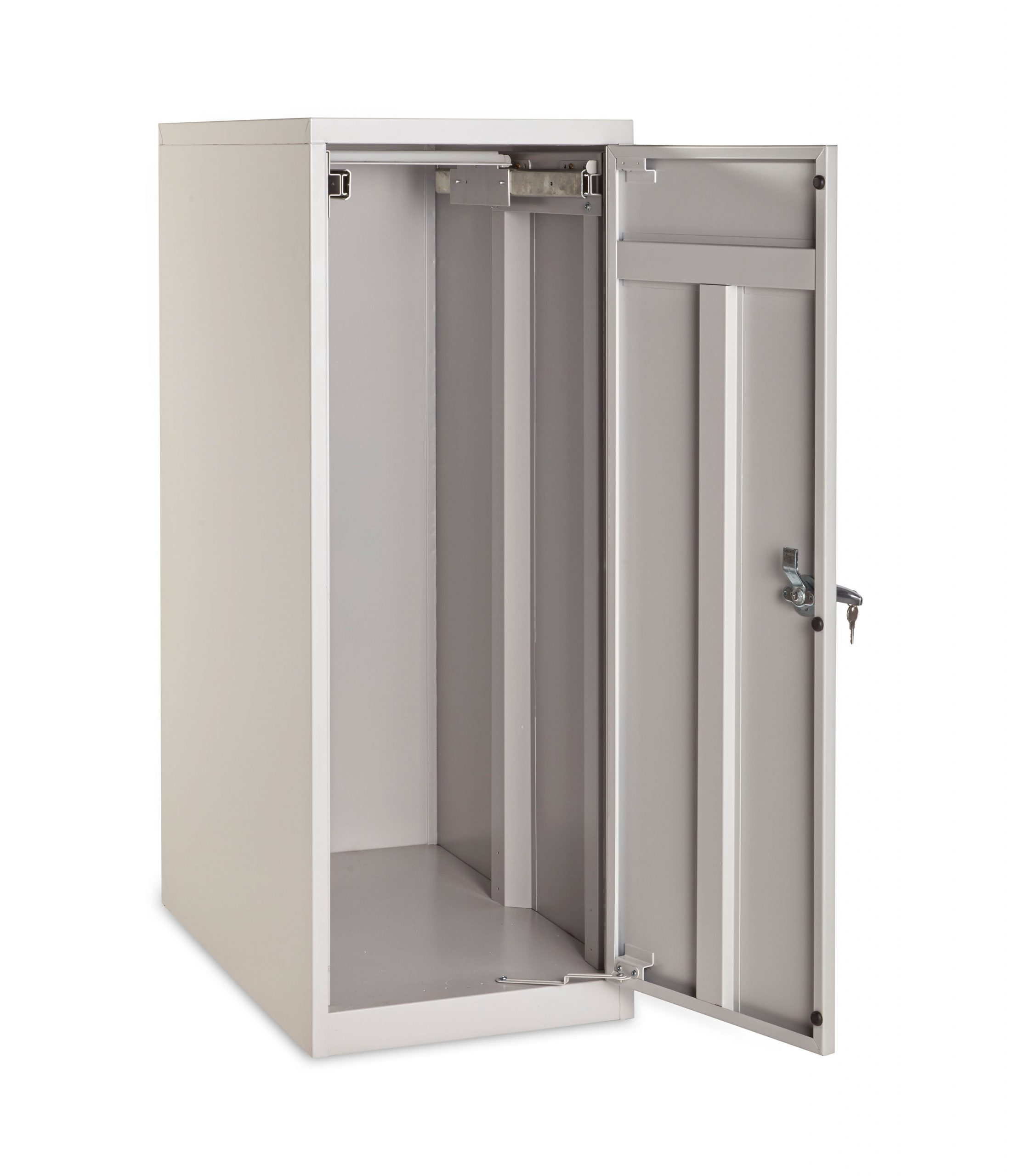 """Small & Large Vertical Storage Cabinet for,18"""",24"""", 30"""",& 36"""" Hanging Clamps"""
