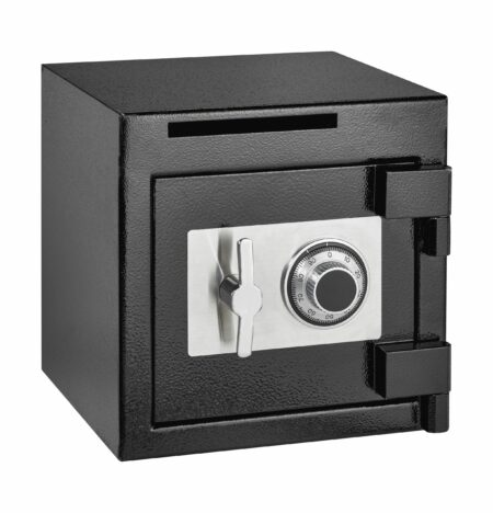 Rugged Compact Combination Lock Office Safe with Deposit Slot