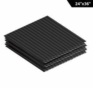 "Corrugated Plastic Sheet 24"" x 36"""