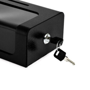 Steel Donation/Suggestion Box with Cable & Lock