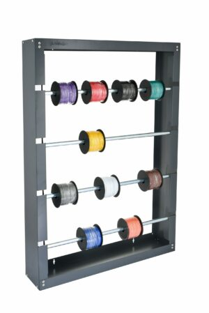 Wire Spool Rack with 4 Rods