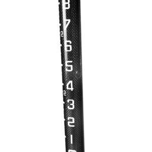 2M Carbon Fiber 3 position Snap Lock Rover Rod-External graduations-10ths/100ths
