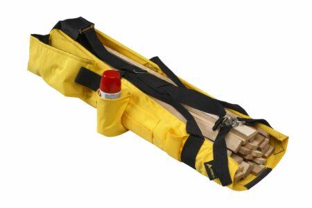 Lath Shoulder Bag with Reinforced Base