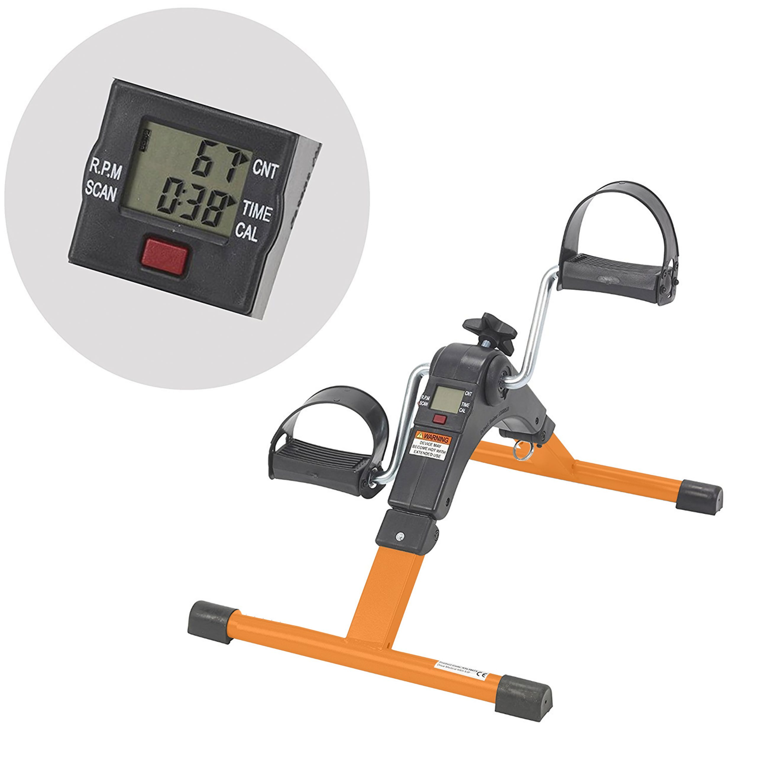 Pedal Exerciser with Digital Screen