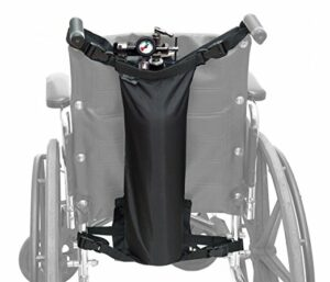 Oxygen Bag for Wheelchair, D and E Cylinders