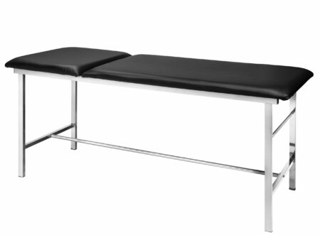 Adjustable Exam Table with Paper Dispenser