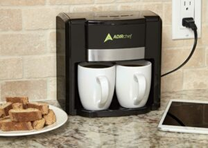 """The AdirChef """"BFF"""" Coffee Maker for Two"""