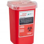 Sharps and Needle Disposal Container 1 Quart-3 Pack