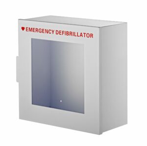 The AdirMed Non-Alarmed Steel Cabinet for Defibrillators
