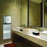 Alpine Industries Hemlock Hand Dryer Base, White, 110/120V
