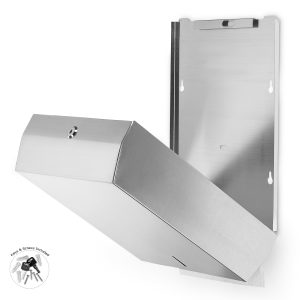 C-FOLD/MULTIFOLD PAPER TOWEL DISPENSER
