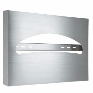 Alpine industries Toilet Seat Cover Dispenser, Stainless Steel Brushed
