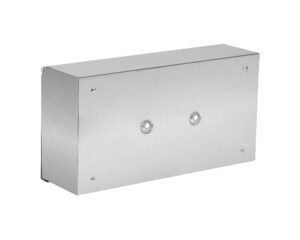 ALPINE INDUSTRIES FACIAL TISSUE BOX COVER/HOLDER FOR BATHROOM VANITY COUNTERTOPS, STAINLESS STEEL BRUSHED