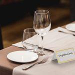 ALPINE INDUSTRIES TABLE TOP BOARD SIGN, BLACK/WOOD, PACK OF 6