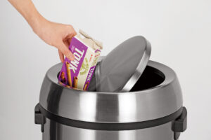 ALPINE INDUSTRIES STAINLESS STEEL SWIVEL TRASH CAN COVER