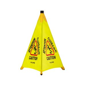Pop-Up Wet Floor Sign