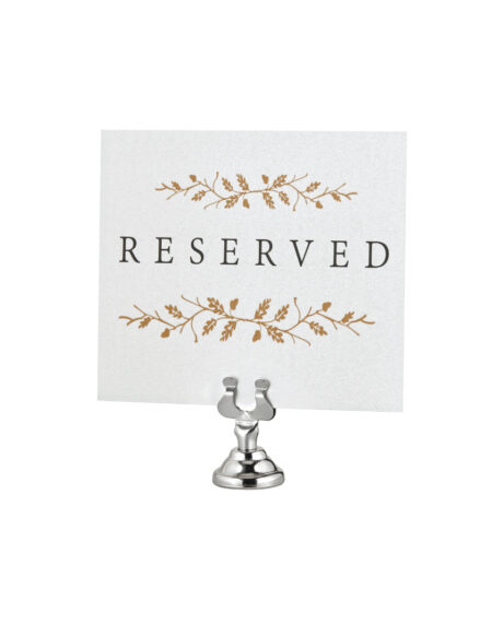 PLACE CARD & TABLE NUMBER HOLDERS, 12 PACK