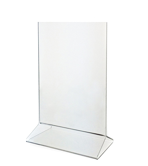 "Upright Frame Top-Loading Acrylic Sign Holder 5"" x 7"""