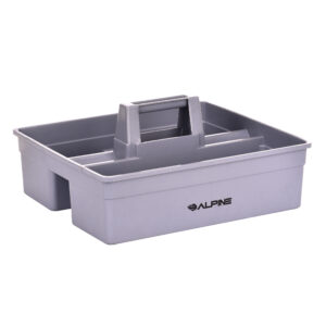 Alpine Industries Plastic Cleaning Caddy, 3-Compartment