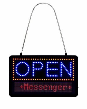 Alpine Industries LED Open Progammable Sign