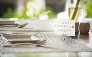 ALPINE PLACE CARD & TABLE NUMBER HOLDERS