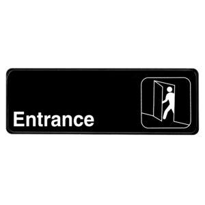 ALPINE INDUSTRIES ENTRANCE SIGN, 3×9