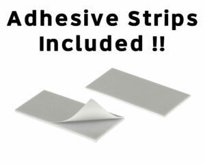 ALPINE INDUSTRIES PLEASE DO NOT FLUSH PAPER TOWELS OR FEMININE PRODUCTS IN TOILETS SIGN, PACK OF 3, 9″X3″