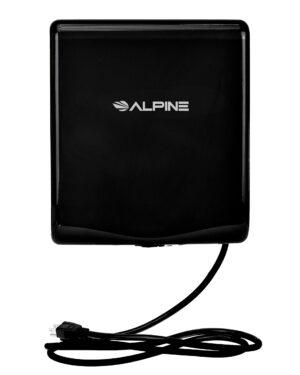 ALPINE WILLOW HIGH SPEED COMMERCIAL HAND DRYER, 120V, BLACK