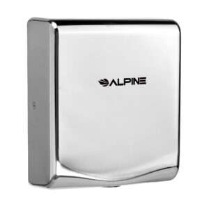 ALPINE WILLOW HIGH SPEED COMMERCIAL HAND DRYER, 120V, CHROME